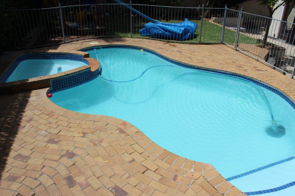 Newlands The owner requested us to fibreglass line the pool.
