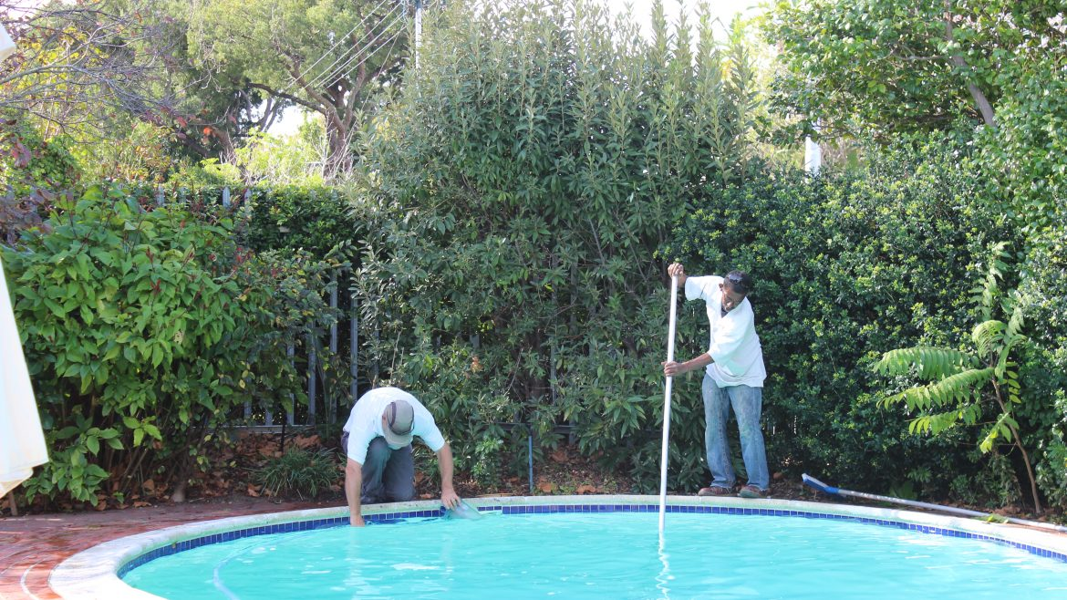 Basic-pool-care-clean-the-surface-baskets-brush-the-pool-clean-the-waterline-and-vacuum