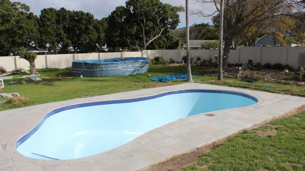 Constantia, Coping & Tiling New Pool Coping Poolside Paving Installed