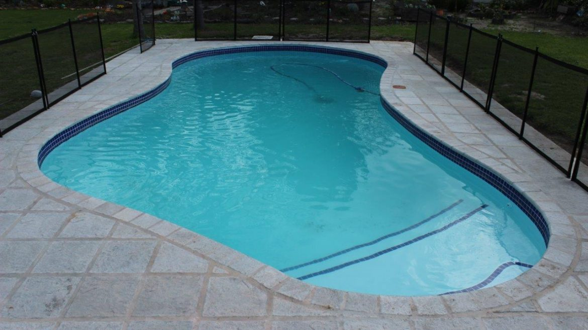 Constantia, Coping & Tiling Non-Slip Surfacing Applied To Pool Steps