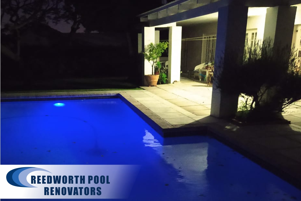 Constantia new fibreglass lining and new aimflow pool lights were installed.